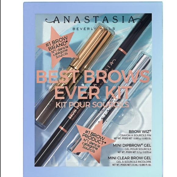 Anastasia Beverly Hills Other - ANASTASIA BEVERLY HILLS BEST BROWS EVER KIT